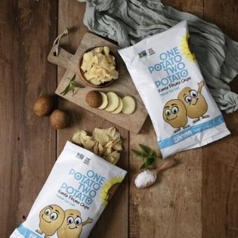 원포테이토 투포테이토 감자칩 씨쏠트 142g