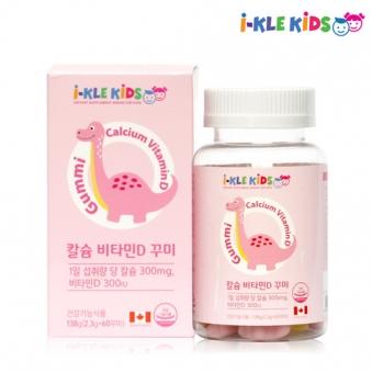 아이가 먼저 찾는 꾸미 영양제 (칼슘&비타민D) 2.3g*60꾸미 (업체별도 무료배송)