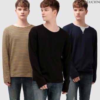 [루시앙] 남여공용 스웨트셔츠 맨투맨 긴팔티셔츠 (업체별도 무료배송)