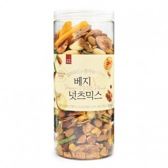 [나라통상] 컬러푸드와 통마늘이 들어간 베지 넛츠믹스 550g (업체별도 무료배송)