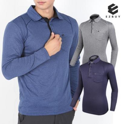 [EZBUY] 티셔츠의 정석 남성 긴팔 카라티셔츠(B82LT023M) (업체별도 무료배송)