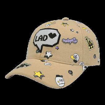 [MLB키즈] 와글와글 캐릭터 커브캡(72CP62711) (업체별도 무료배송)