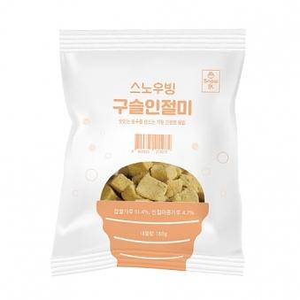 [냉동] 스노우빙 구슬인절미 180g x 3팩 (업체별도 무료배송)
