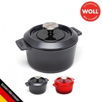 [독일 WOLL] 아이언 무쇠주물 양수냄비 16cm (색상선택) (업체별도 무료배송)