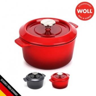 [독일 WOLL] 아이언 무쇠주물 양수냄비 18cm (색상선택) (업체별도 무료배송)