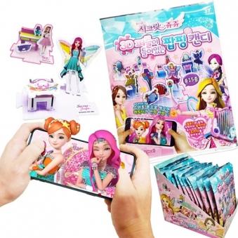 [시크릿쥬쥬] 3D퍼즐 팝핑캔디 4.5g x 12입 (업체별도 무료배송)