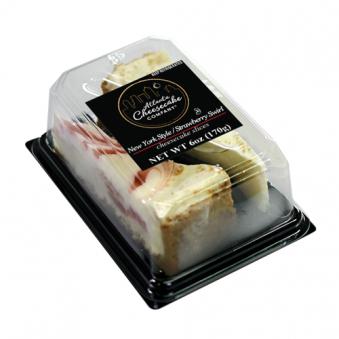 아틀렌타 치즈케이크 트윈팩 1팩 (2조각,170g) x 6팩 (업체별도 무료배송)