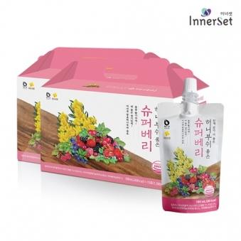 [1+1] 허니부쉬  슈퍼베리즙 100ml*24포 (업체별도 무료배송)