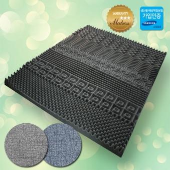 [SEVEN MOM] 딥슬립 7존 토퍼 3D 매트리스 퀸 + 겉커버 증정 (업체별도 무료배송)