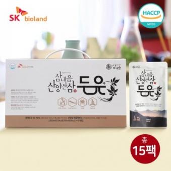 [오늘의상품] 삼내음 산양산삼 두유 190ml*15포 1BOX (업체별도 무료배송)