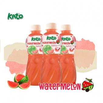 가토 수박맛 코코넛젤리 주스 320ml*24입 (업체별도 무료배송)