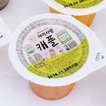 [다다익선] 아이사랑 캐플주스 100ml x 20개 (업체별도 무료배송)