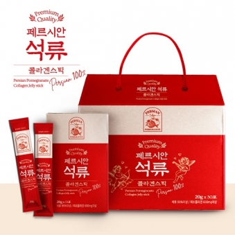 [다다익선] 페르시안 석류 콜라겐스틱 20g x 30포 (업체별도 무료배송)