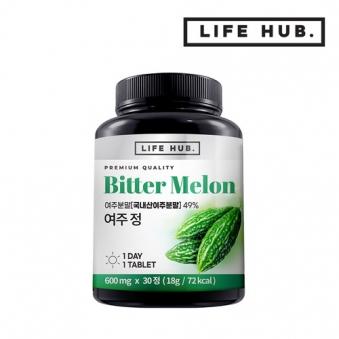 라이프허브 여주정 1통(30정) 1개월분 (업체별도 무료배송)
