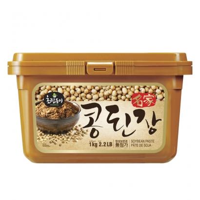 [1시 마감] [신송식품] 초립동이 명가콩된장 1kg