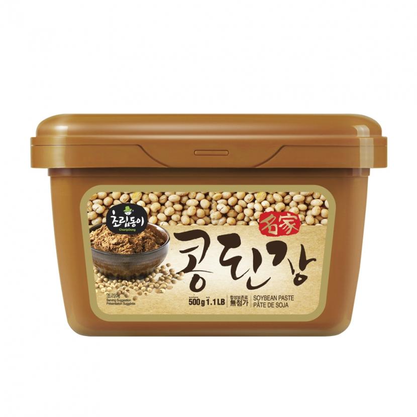 [신송식품] 초립동이 명가콩된장 500g