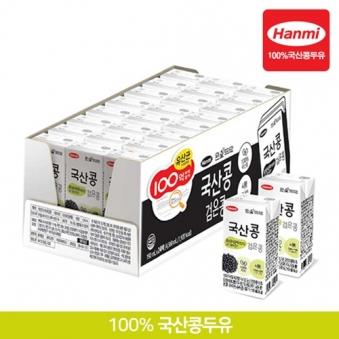 [한미] 국산콩 검은콩 190ml x 24팩(트레이) (업체별도 무료배송)