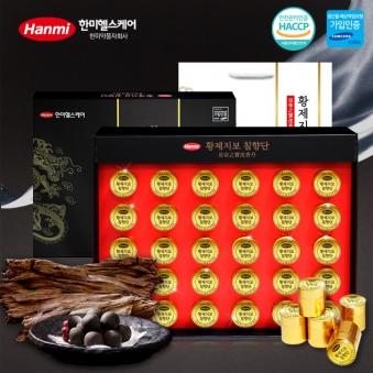 [한미] 황제지보 침향단 3.75g x 30환 (침향 20%) + 쇼핑백 동봉 (업체별도 무료배송)