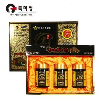 의성 내고향 흑마늘홍삼 골드 250g*3병 (업체별도 무료배송)