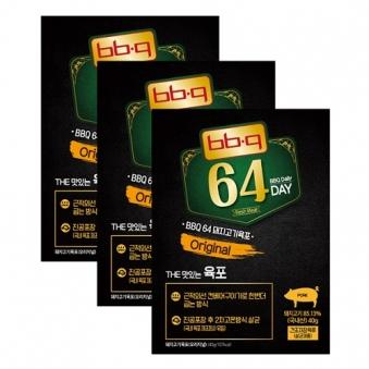 [BBQ] 수제육포 돼지고기 오리지널 40g x 3개 (업체별도 무료배송)