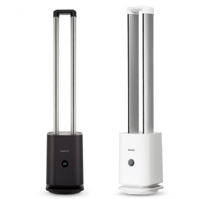 [가전특가전] [GEEK] 2IN1 공기청정 타워형 선풍기 (블랙,화이트) (업체별도 무료배송)