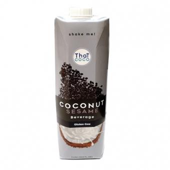 핫딜] 타이코코 코코넛 밀크 검은깨 1L x 12개 (업체별도 무료배송)