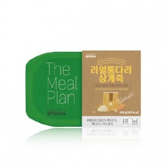 [핫딜] [하티스푼] 띵쿡 리얼통다리삼계죽 320g (업체별도 무료배송)