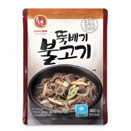 [하우촌] 뚝배기 불고기 400g x 4개  (업체별도 무료배송)