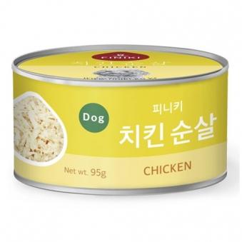 [떠리데이-무료배송관] 피니키 치킨순살 캔 95g*24입 (업체별도 무료배송)