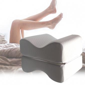 [코튼클럽] 메모리폼 무릎베개 + 겉커버 (업체별도 무료배송)