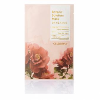 [다다익선] [셀더마] 보타닉 솔루션 마스크팩 25g (동백꽃) * 10매