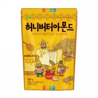 [나라통상] 허니버터 아몬드 200g x 2입 (업체별도 무료배송)