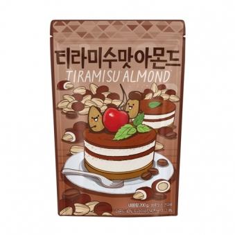 [나라통상] 티라미수맛 아몬드 200g x 2입 (업체별도 무료배송)