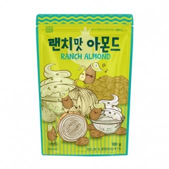 [나라통상] 랜치맛 아몬드 180g x 2입 (업체별도 무료배송)