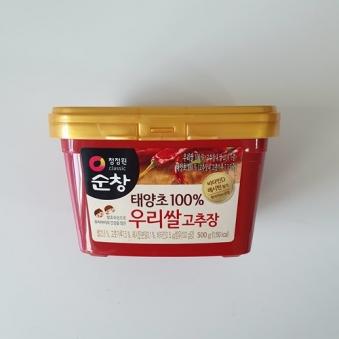 청정원 순창 우리쌀 고추장 500g (업체별도 무료배송)