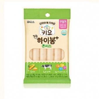 [핫딜] [일동후디스] 키요 DHA 하이봉 콘치즈 15g*6입 x 8케이스 (업체별도 무료배송)