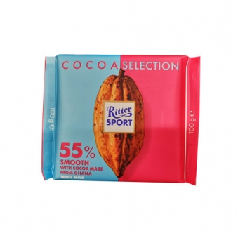 리터 카카오셀렌션 스무스 55% 초콜릿 100g