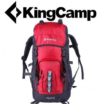 [KingCamp] 킹캠프 등산배낭 POLAR 45L RED (업체별도 무료배송)