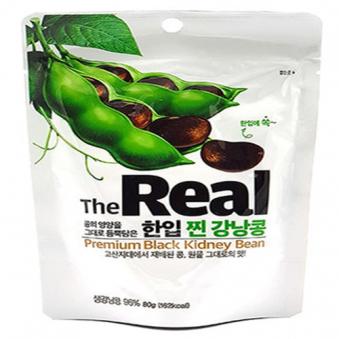 더리얼 한입찐강낭콩 80g x 5봉 (업체별도 무료배송)