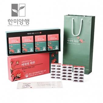 꽃처럼 피어나는 오늘 Women's Daily Life(2개월분) 900mg * 120캡슐 +쇼핑백포함  (업체별도 무료배송)