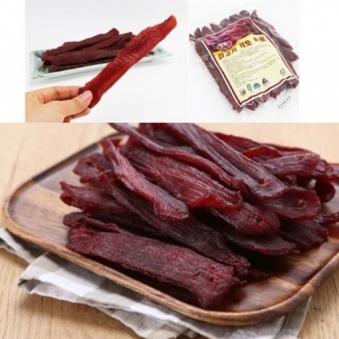 국내최초 통큰 쇠고기 키토 육포 450g (업체별도 무료배송)