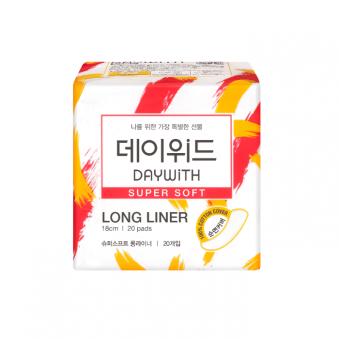 [데이위드] 슈퍼 소프트 생리대 롱라이너 18cm 1팩 (20매입)