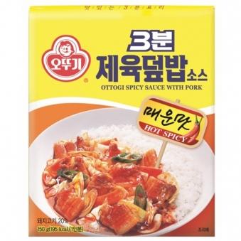 [오뚜기] 3분 제육덮밥 소스 150g
