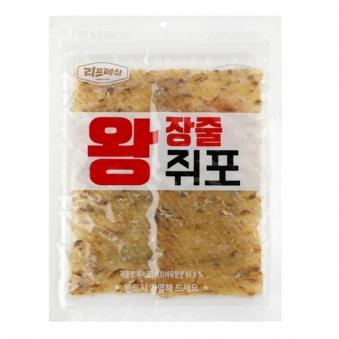 [리프레쉬] 왕 장줄쥐포 170g (업체별도 무료배송)