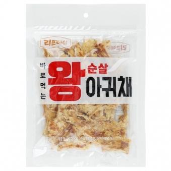 [리프레쉬] 왕순살 아귀채 250g (업체별도 무료배송)