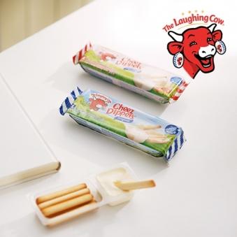 [래핑카우] 치즈 디퍼즈 (오리지날) 140g(35g*4개입) x  3팩 (업체별도 무료배송)
