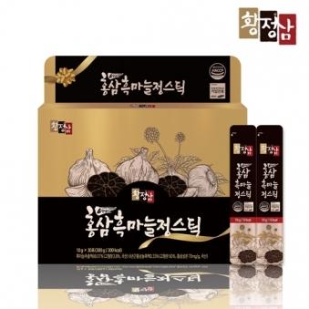 [황정삼] 홍삼 흑마늘 정스틱 10g*30입 (추가옵션구성) (업체별도 무료배송)