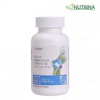 뉴트리나 칼슘 마그네슘 비타민D 1500mg*180정 (6개월분) (업체별도 무료배송)