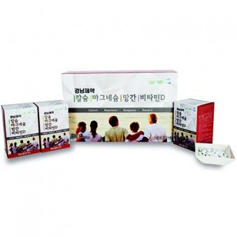 [경남제약] 경남제약 칼슘마그네슘망간비타민D 600mg x 180정 (3개월분) (업체별도 무료배송)