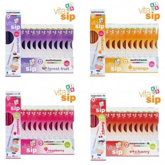 [건강백서] [비타십] 키즈비타민 비타민빨대 36.4g*7스틱x10박스 (옵션선택) (업체별도 무료배송)